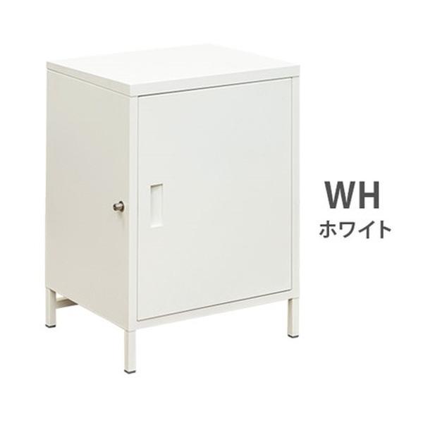 宅配ボックス大容量1ドア ホワイト(WH) 【組立品】【代引不可】 送料込!