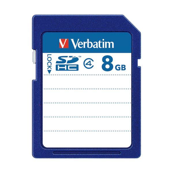 (まとめ) バーベイタム SDHCカード 8GBClass4 SDHC8GYVB1 1枚 【×10セット】 送料無料!