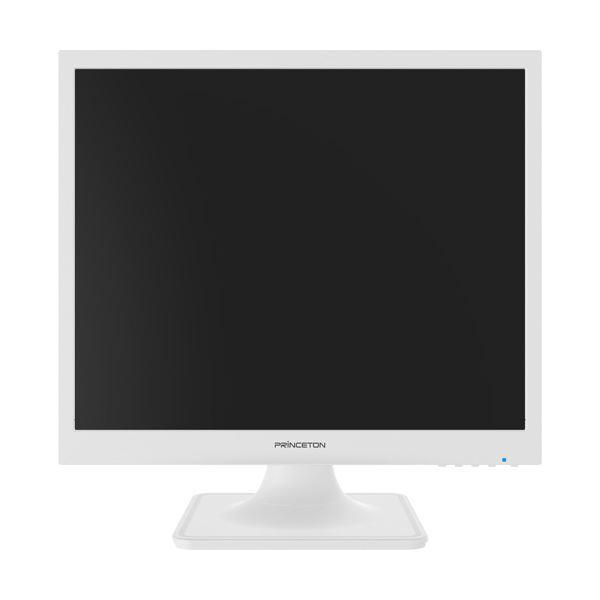 プリンストン19型スクエア液晶ディスプレイ ホワイト PTFWLT-19 1台 送料無料!