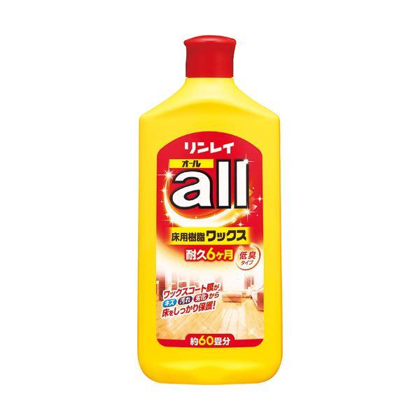 リンレイ 床用樹脂ワックスオール 1L 1本 【×10セット】 送料無料!