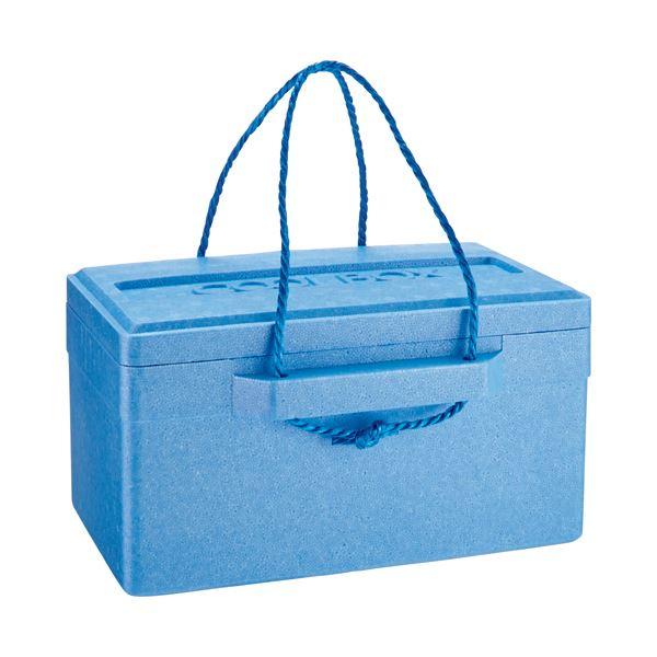 (まとめ) 石山 発泡クールボックス 18.7L ブルー TI-180P 1個 【×10セット】 送料無料!