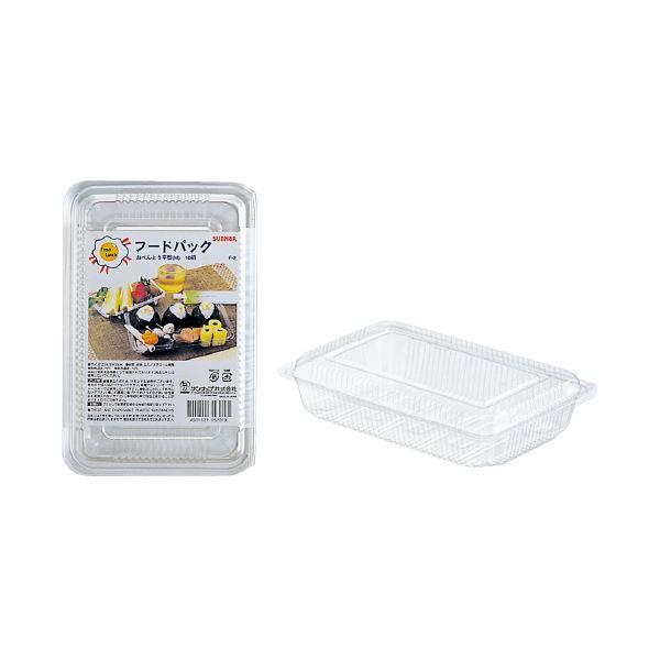 (まとめ)サンナップ フードパック お弁当平型M 10組(×100セット) 送料無料!