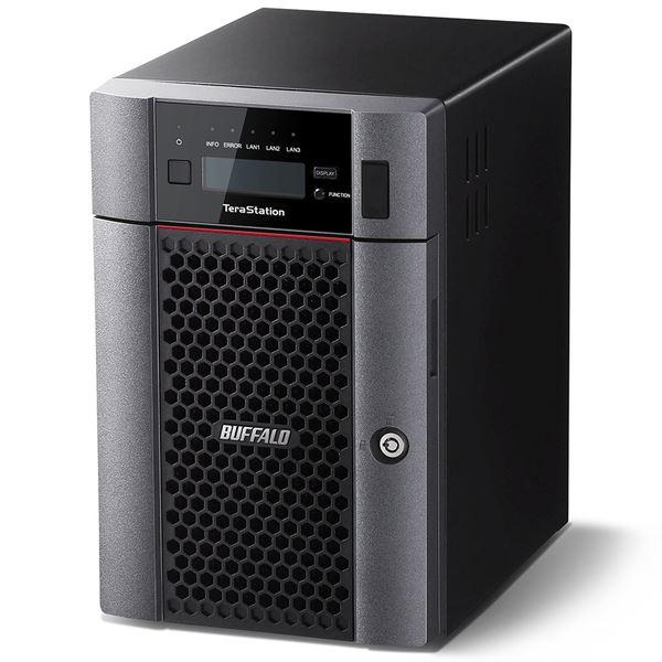 バッファロー TeraStation TS5610DNシリーズ 10GbE標準搭載 6ドライブNAS18TB TS5610DN1806 送料無料!