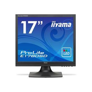 iiyama ProLite17型スクエア液晶ディスプレイ ノングレア マーベルブラック E1780SD-B1 1台 送料無料!
