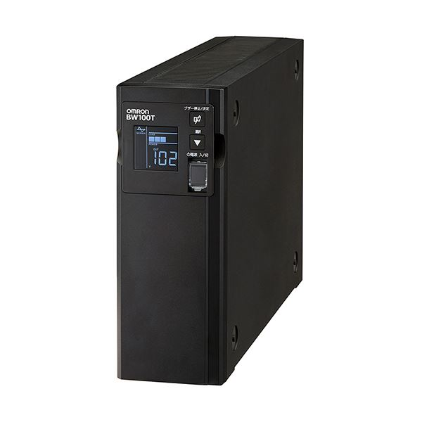 オムロン UPS無停電電源装置(常時商用給電/正弦波出力) 1000VA/610W BW100T 1台 送料無料!