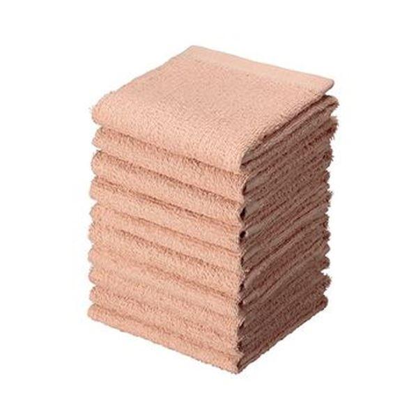 おしゃれに使えて 汚れが目立ちにくい濃いめのカラータオル まとめ アイ ※アウトレット品 フィット おしぼりタオル 10枚 ブランド品 送料無料 ベージュHT-BE10 ×20セット 1パック
