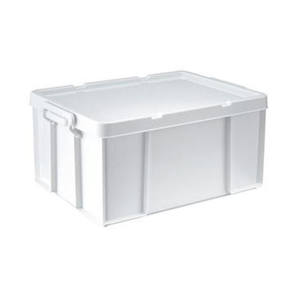 (まとめ)天馬 ロックス モノ 530MW390×D530×H243mm ホワイト 1個【×5セット】 送料無料!