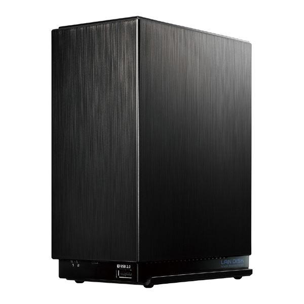 アイ・オー・データ機器 デュアルコアCPU搭載 2ドライブ高速NAS 8TB 送料無料!