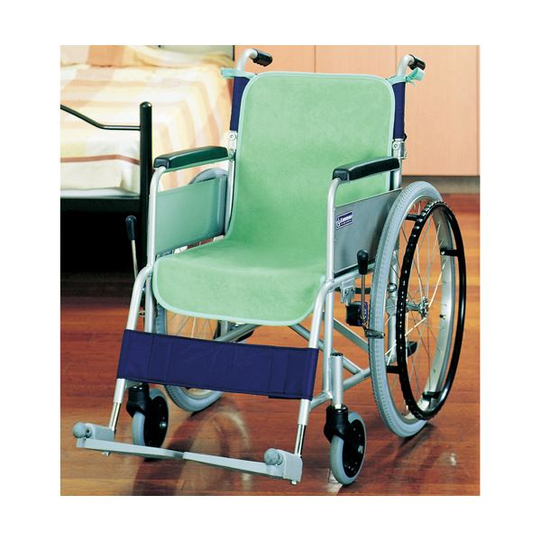 オンライン限定商品 肌ざわりの良いソフトな風合いのパイル地が臀部をやさしく覆います まとめ ケアメディックス 車椅子シートカバー グリーン 1パック 2枚 ×3セット 安心の実績 高価 買取 強化中 44020G