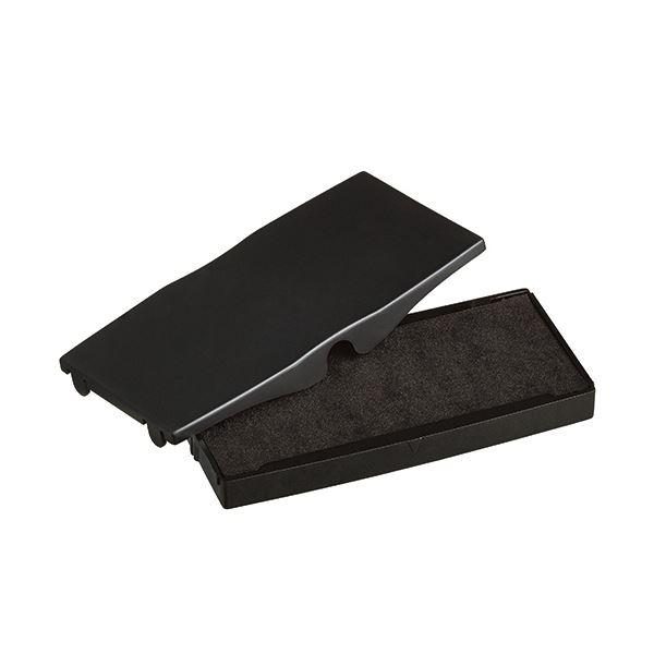 (まとめ) シャイニー スタンプ内蔵型角型印S-855専用パッド 黒 S-855-7B 1個 【×30セット】 送料無料!