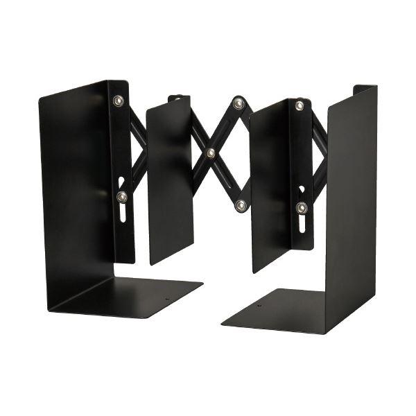 (まとめ)カール事務器 ブックエンド ALB-55-K ブラック(×10セット) 送料込!