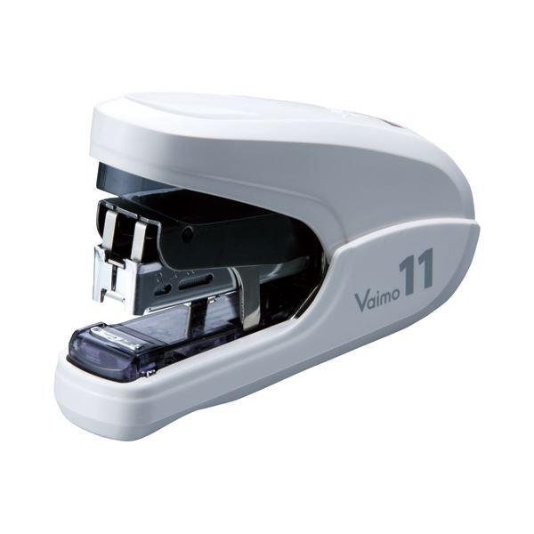 (まとめ) マックス バイモ11フラット 40枚とじホワイト HD-11FLK/W 1個 【×10セット】 送料無料!