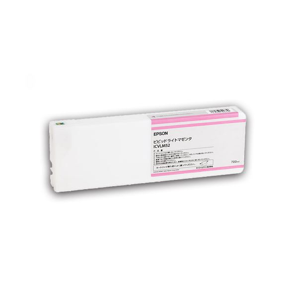 (まとめ) エプソン EPSON PX-P/K3(VM)インクカートリッジ ビビッドライトマゼンタ 700ml ICVLM52 1個 【×3セット】 送料無料!