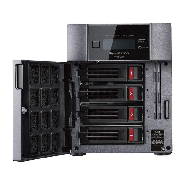 Windows Server IoT 2019 for Storage WorkgroupEdition搭載 4ベイデスクトップ3JKuTclF1