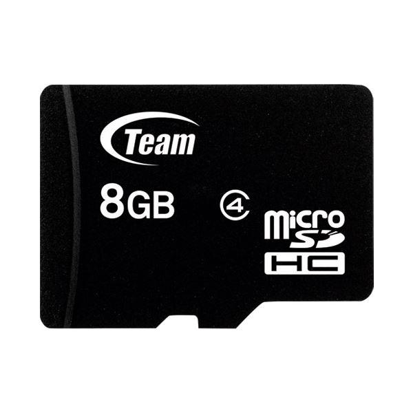 (まとめ) TEAM microSDHCカード 8GB TG008G0MC24A【×10セット】 送料無料!
