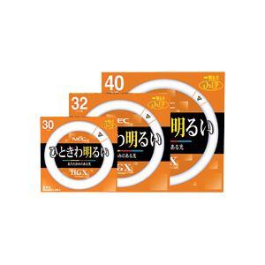 NEC 蛍光ランプ ライフルックHGX環形スタータ形 32W形 3波長形 電球色 FCL32EX-L/30-X 1セット(10本) 送料無料!