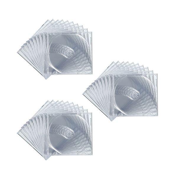 (まとめ) サンワサプライ DVD・CDケースクリア FCD-PN30C 1パック(30枚) 【×10セット】 送料無料!
