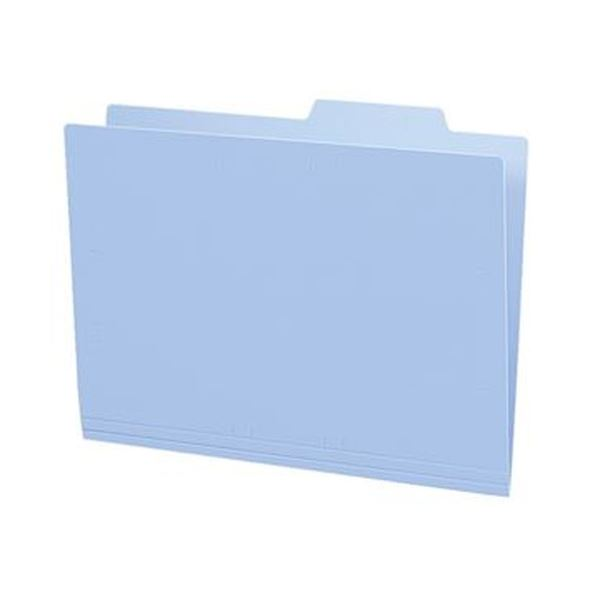 (まとめ)コクヨ 個別フォルダー(カラー・PP製)A4 青 A4-IFH-B 1パック(5冊)【×20セット】 送料無料!