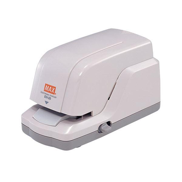 (まとめ)マックス 小型電子ホッチキスカートリッジ針付 EH-20 1台【×3セット】 送料無料!