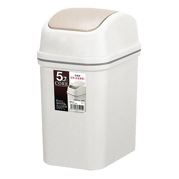 (まとめ) ゴミ箱/ダストボックス 【5.7L】 スウィング式 コア・スイング 【30個セット】 送料込!