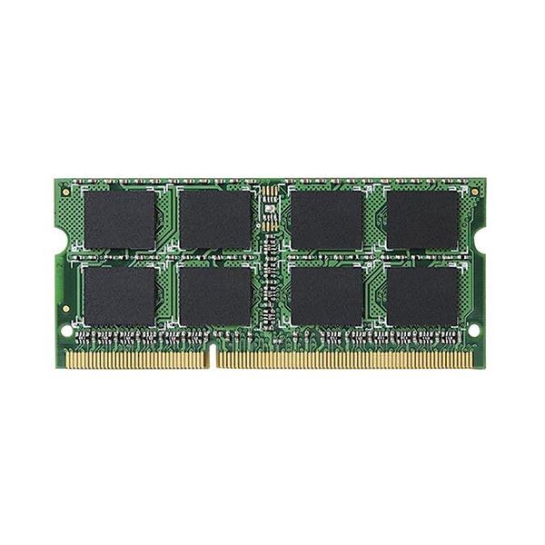 (まとめ)エレコム 204Pin DDR3L1600MHz PC3L-12800 SDRAM S.O.DIMM 4GB EV1600L-N4G/RO 1枚【×3セット】 送料無料!