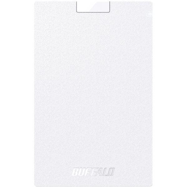 バッファロー USB3.1(Gen1) ポータブルSSD 480GB ホワイト 送料無料!