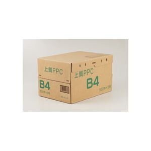 (まとめ)上質PPC用紙 NY B4 1箱(2500枚:500枚×5冊) 【×2セット】 送料込!