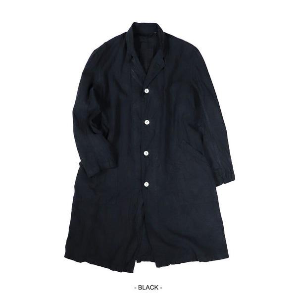 ショッピング フランス軍タイプ麻綿混ワークコート ●スーパーSALE● セール期間限定 ブラック 1 レディースフリーサイズ 送料込