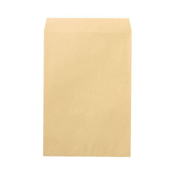 (まとめ)ピース R40再生紙クラフト封筒 角185g/m2 業務用パック 700-80 1箱(500枚)【×3セット】 送料込!