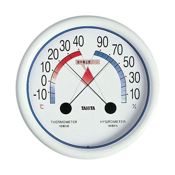 (まとめ) タニタ 食中毒注意ゾーン付温湿度計 WH5488【×5セット】 送料無料!