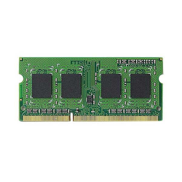 (まとめ)エレコム RoHS対応DDR3-1600 204pin S.O.DIMM 2GB EV1600-N2G/RO 1枚【×3セット】 送料無料!
