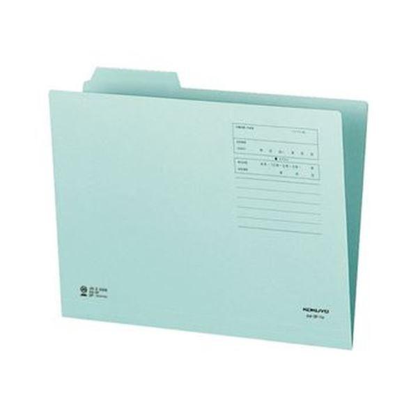 (まとめ)コクヨ 1/3カットフォルダー(カラー)A4 第1見出し 青 A4-3F-1B 1セット(10冊)【×20セット】 送料無料!