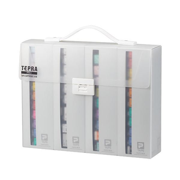 キングジム テプラ PRO テープカートリッジケース 約W317×D70×H245mm SR4TH 1個 【×10セット】 送料無料!