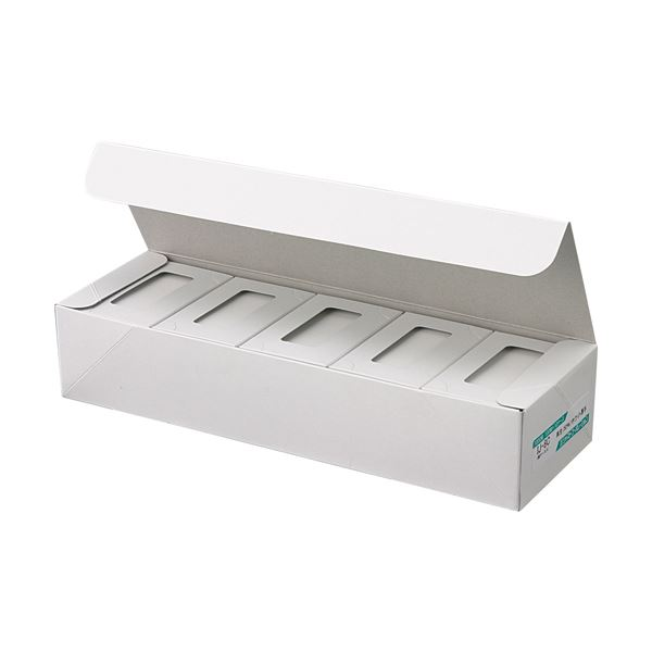 (まとめ) ジャストコーポレーション カラーIJ専用名刺用紙 ホワイト IJ-5C 1セット(1000枚:100枚×10箱) 【×5セット】 送料無料!