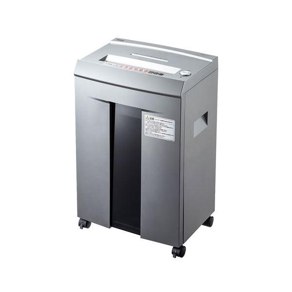 送料込! PSD-M4010 ペーパー&CDシュレッダー(40分連続・マイクロカット・10枚) サンワサプライ