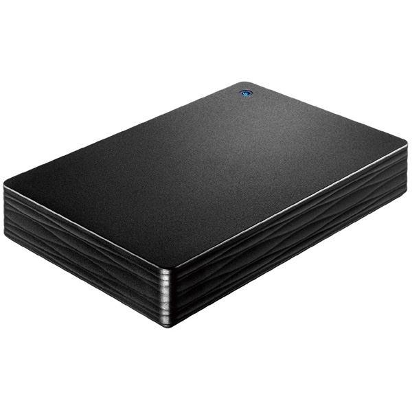 USB3.1 Gen1/2.0対応ポータブルハードディスク「カクうす Lite」 ブラック3TB 送料無料!