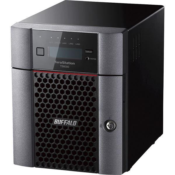 バッファロー TeraStation TS6400DNシリーズ 4ベイ デスクトップNAS 24TB 送料無料!