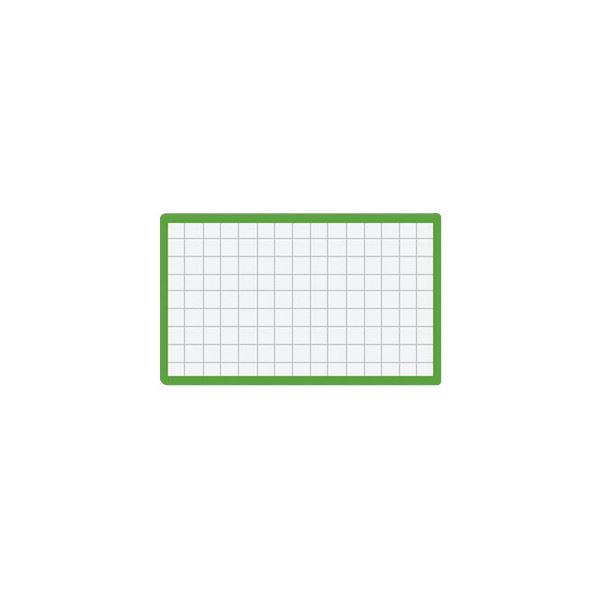 (まとめ)コクヨ マグネット見出し 43×74mm緑 マク-403G 1セット(10個)【×5セット】 送料無料!
