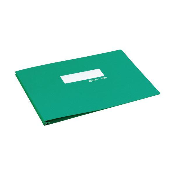 コクヨ データファイルA バースト用T6~11×Y15 1000枚収容 緑 EF-251ENG 1セット(10冊) 送料無料!