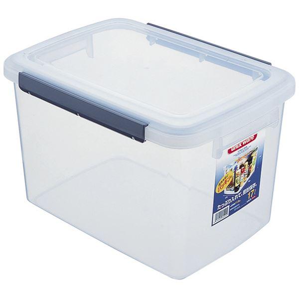 乾物ストッカー/キッチンボックス 【容量17L】 保存容器 密閉 アップロック式 キッチン用品 ウィル 【16個セット】 送料込!