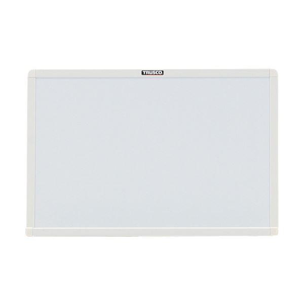 枠色:ホワイト スチール製ホワイトボード300×450 板面:白 WGH-142S-W 1枚【×3セット】 送料無料! (まとめ)TRUSCO