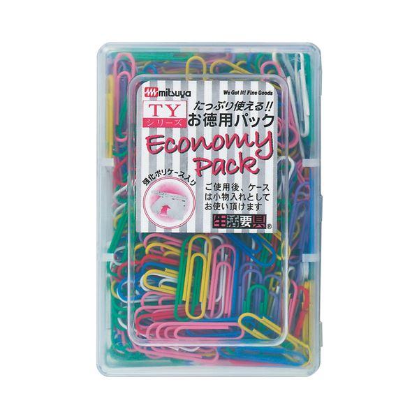 (まとめ) ミツヤ カラーゼム 大 28mm 7色アソート TY-25 1箱(約360本) 【×30セット】 送料無料!