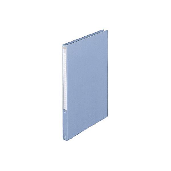 (まとめ) プラス レターファイル A4タテ100枚収容 背幅18mm ブルー FL-001LT 1冊 【×30セット】 送料込!