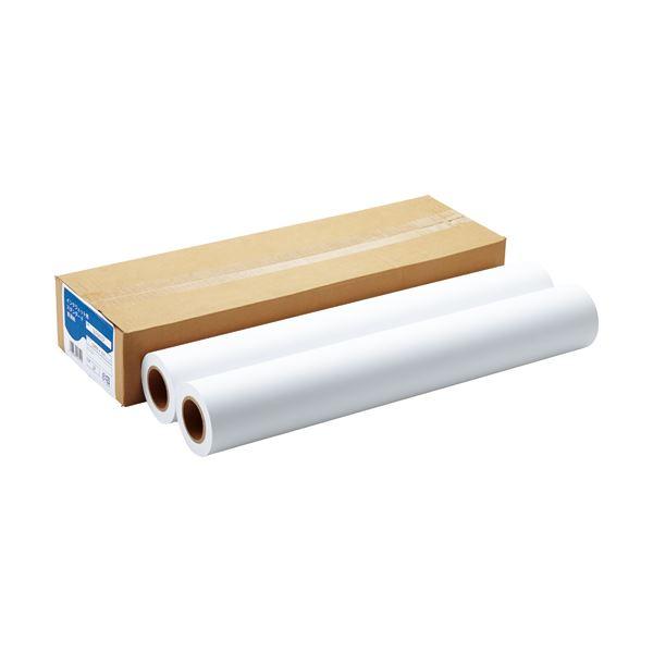 (まとめ) 中川製作所インクジェット用スタンダード普通紙 A1ロール 594mm×45m IJLF64A1SP 1箱(2本) 【×5セット】 送料無料!