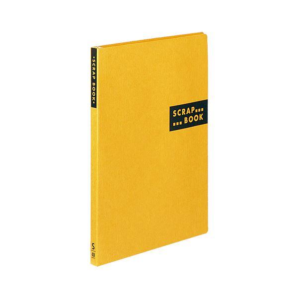 (まとめ) コクヨ スクラップブックS(スパイラルとじ・固定式) A4 中紙40枚 背幅20mm 黄 ラ-410Y 1冊 【×30セット】 送料無料!