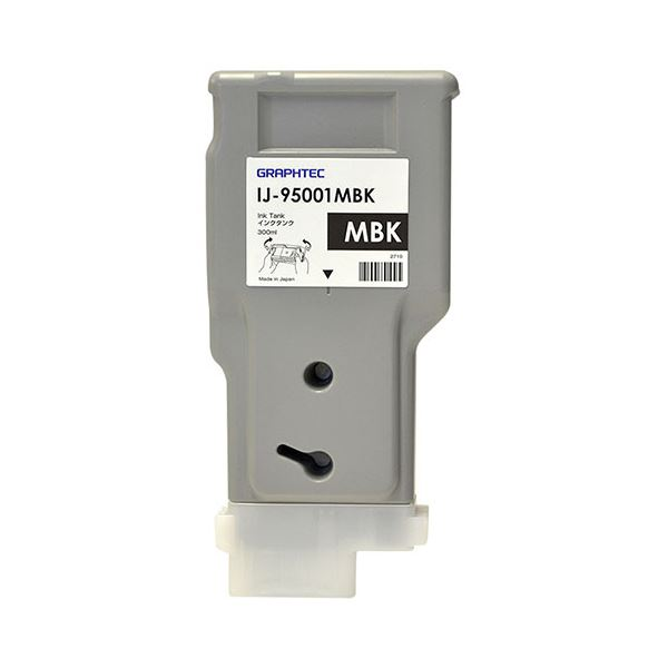 グラフテック インクタンクマットブラック 300ml IJ-95001MBK 1個 送料無料!