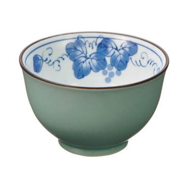 (まとめ)西海陶器 掛分ぶどう 仙茶 170ml 1セット(5個)【×5セット】 送料無料!