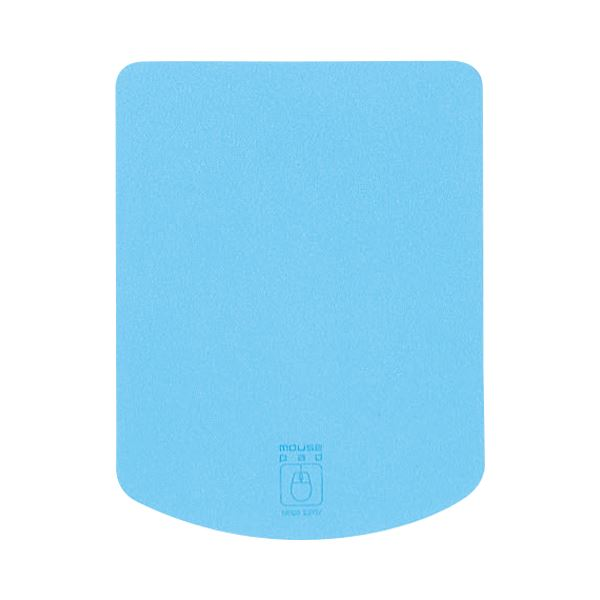 (まとめ) サンワサプライ マウスパッドライトブルー MPD-T1LB 1枚 【×30セット】 送料無料!
