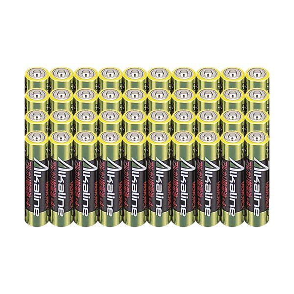 (まとめ)メモレックス・テレックス アルカリ乾電池単4形 LR03/1.5V40S 1セット(400本:40本×10パック)【×3セット】 送料無料!