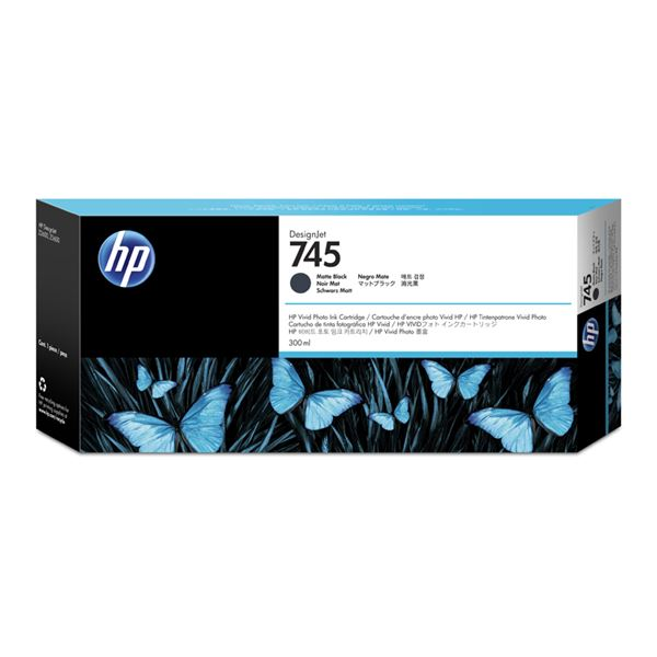 HP745インクカートリッジ マッドBK300ml 送料無料!